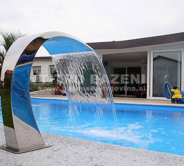 Slap kobra poliran v4a spletna trgovina titro bazeni - Cascate per piscine ...