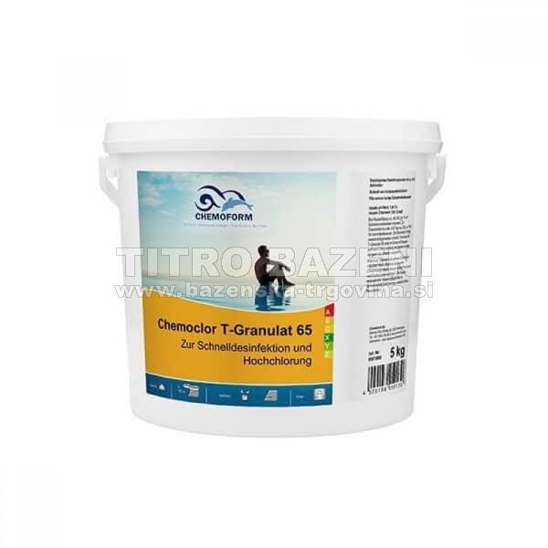 Klor granulat 5 kg