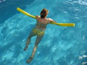 Plavajoči penasti TULCI za bazen