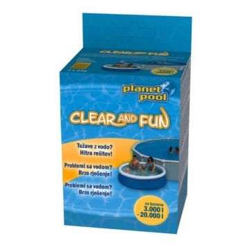 Clear and Fun - dezinfekcija za otroške bazene