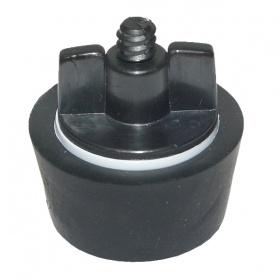 Gumi čep s plastičnim vijakom za tesnjenje cevi