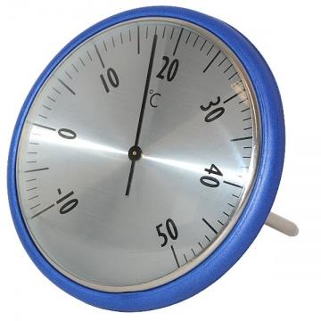 Okrogel plavajoči termometer