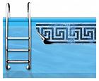 PVC bordure za rob bazena