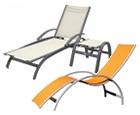 Stoli in ležalniki za wellness, vrt ali teraso