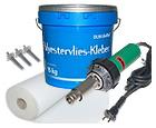 Material za pritrjevanje in nameščanje PVC folije za bazen