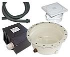 Transformatorji, spojni material, ostala oprema za vgradnjo bazenskih podvodnih reflektorjev
