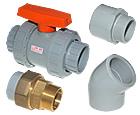 PVC-C spojni material - Temperaturno odporni